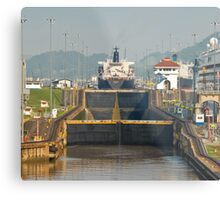 Crossing the Canal 7 Metal Print