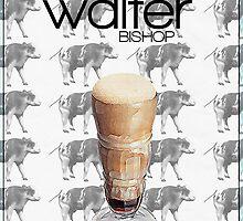 Fringe minimalist poster, Walter Bishop by hannahnicole420