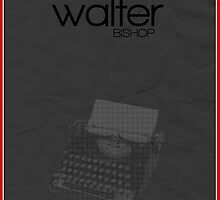 Fringe minimalist poster, Walter Bishop (alternate universe) by hannahnicole420
