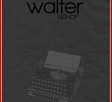Fringe minimalist poster, Walter Bishop (alternate universe) by hannahnicole420
