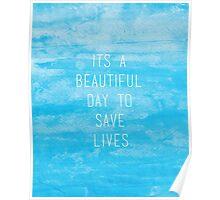 Grey's Anatomy McDreamy Quote III Poster