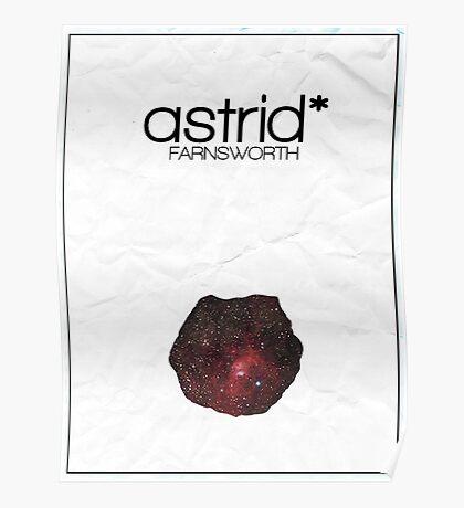 Fringe minimalist poster, Astrid Farnsworth Poster