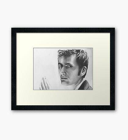 ten goodye Framed Print