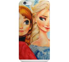 Anna and Elsa (and Olaf!)  iPhone Case/Skin