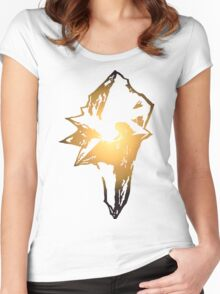 Final Fantasy 9 logo Women's Fitted Scoop T-Shirt