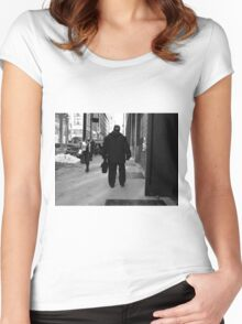 New York Street Photography 68 Women's Fitted Scoop T-Shirt