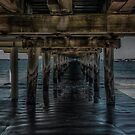 Under the Pier by Gerard Rotse