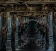 Under the Pier Sticker