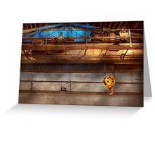 Industrial - The gantry crane Greeting Card