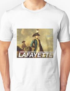 America's favorite fighting Frenchman — Lafayette! T-Shirt