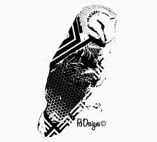 Black Patterned Owl Unisex T-Shirt