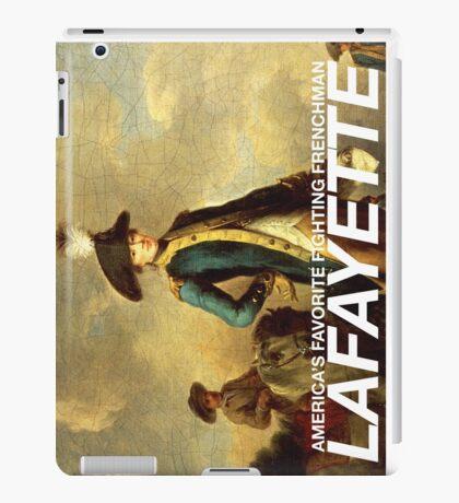 America's favorite fighting Frenchman — Lafayette! iPad Case/Skin