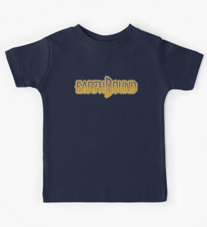 Earthbound Title Screen (Pixelated) Kids Tee
