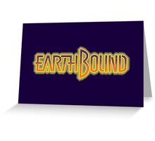 Earthbound Title Screen (Pixelated) Greeting Card