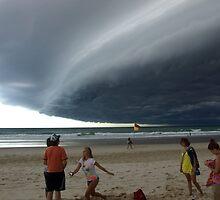 Pancake cloud over Gold Coast by SurendraHalgeri