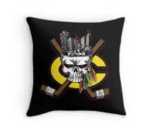 Chicago Blackhawks Skyline Throw Pillow