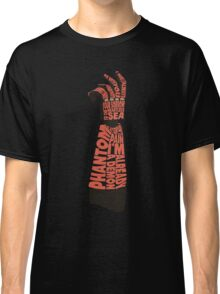 Metal Gear Solid V - Bionic Arm - Typography Classic T-Shirt