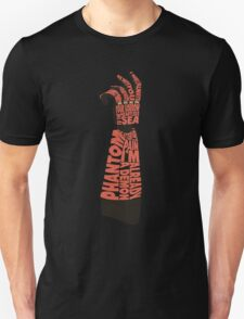 Metal Gear Solid V - Bionic Arm - Typography Unisex T-Shirt