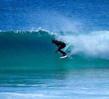 Surfing Duranbah by Noel Elliot