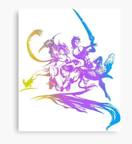 Final Fantasy 10-2 logo Canvas Print