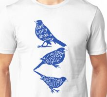 three lil birds. Unisex T-Shirt
