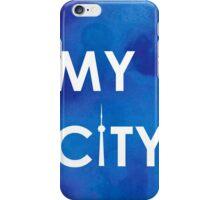 My City - Toronto -BlueA iPhone Case/Skin