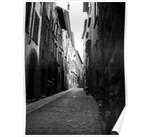 Side Street, Bergamo, Italy Poster