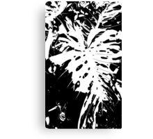 Monochrome nature Canvas Print