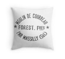 French Flour Sack Pillow Throw Pillow