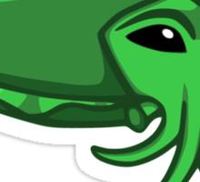 Green Cuttlefish Sticker