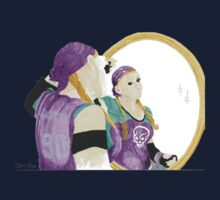 Daily Doodle 31-Vanity-Derby Girls-Validated Vanity by ArtbyMinda