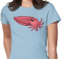 Pink Cuttlefish Womens Fitted T-Shirt