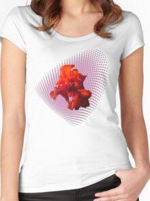 Canna Virág Women's Fitted Scoop T-Shirt
