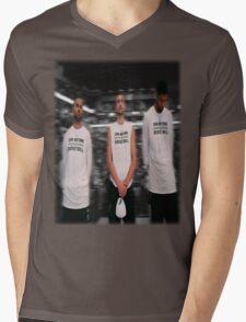 Spurs Big 3 Soft Edge Mens V-Neck T-Shirt