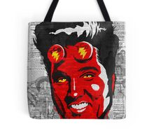 Hellvis and the TCB (Takin' Care of Business) Band Tote Bag