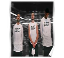 Spurs Big 3 Soft Edge Poster