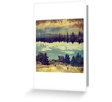 Linger Greeting Card