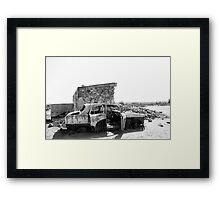 Silverton Ruins Framed Print