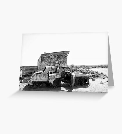 Silverton Ruins Greeting Card