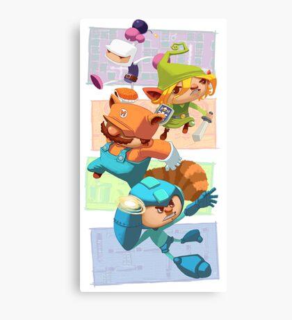 Megabomberbroszelda Canvas Print