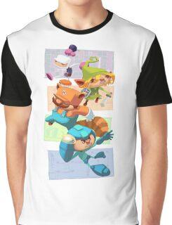 Megabomberbroszelda Graphic T-Shirt