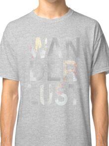 Wanderlust in gray  Classic T-Shirt