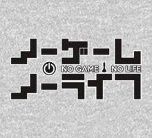 No Game No Life Logo ~ Black by mixiemoon