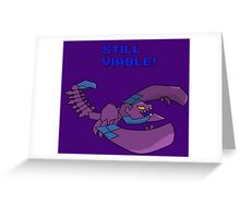 Skarner is still Viable Greeting Card