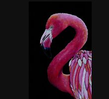 Pink Flamingo in Coloured Pencil T-Shirt