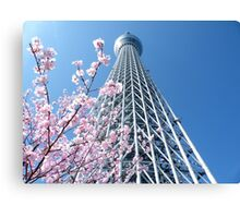Tokyo Skytree 東京スカイツリー Canvas Print