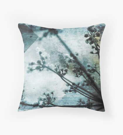 Japanese Blossoms Throw Pillow