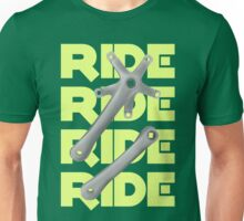 Bicycle Crankset Unisex T-Shirt