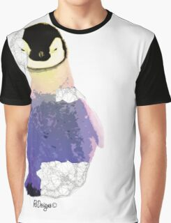 Geometric Animal - Baby Penguin Graphic T-Shirt