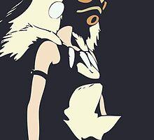 Princess Mononoke by Studio Momo╰༼ ಠ益ಠ ༽